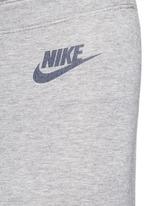 'Leg-A-See' slogan print sports leggings