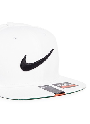 Front View - Click To Enlarge - Nike - 'Swoosh Pro' patch appliqué baseball cap