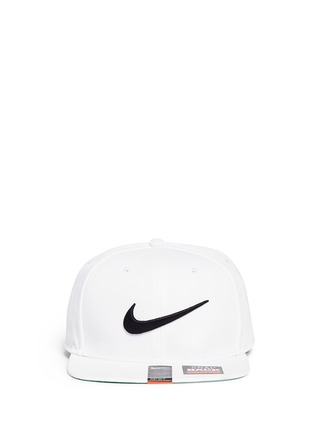 Main View - Click To Enlarge - Nike - 'Swoosh Pro' patch appliqué baseball cap