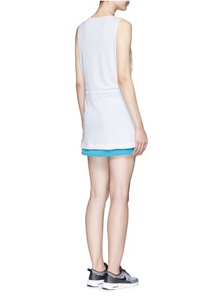 Back View - Click To Enlarge - Nike - 'AS Nike Premium Pack' mesh jersey dress