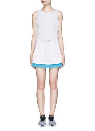 Main View - Click To Enlarge - Nike - 'AS Nike Premium Pack' mesh jersey dress