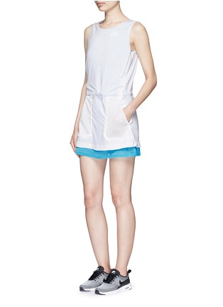 Figure View - Click To Enlarge - Nike - 'AS Nike Premium Pack' mesh jersey dress