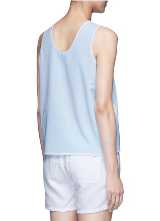 Back View - Click To Enlarge - Nike - 'AS Nike Premium Pack' mesh layered tank top