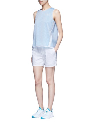 Figure View - Click To Enlarge - Nike - 'AS Nike Premium Pack' mesh layered tank top