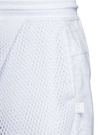 Detail View - Click To Enlarge - Nike - NikeCourt mesh overlay skort