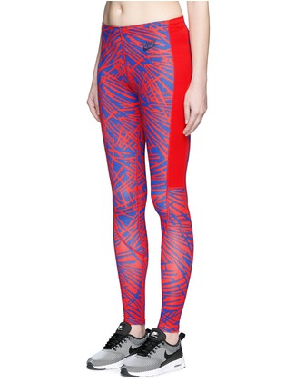 Front View - Click To Enlarge - Nike - 'Leg-A-See' print performance leggings