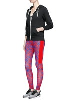 'Leg-A-See' print performance leggings