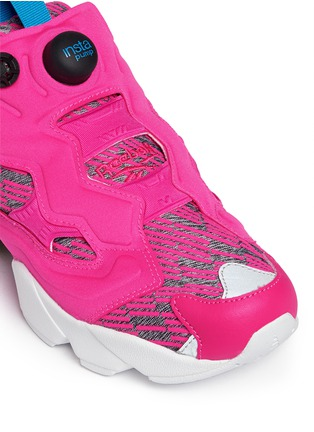 Detail View - Click To Enlarge - Reebok - 'Instapump Fury Celebrate' slip-on sneakers