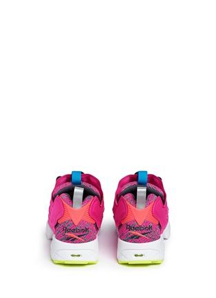 Back View - Click To Enlarge - Reebok - 'Instapump Fury Celebrate' slip-on sneakers
