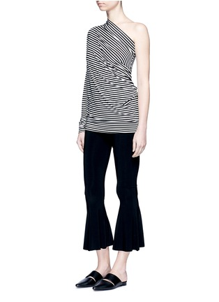 Figure View - Click To Enlarge - Norma Kamali - Cropped fishtail pants