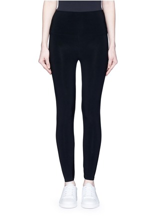 Main View - Click To Enlarge - Norma Kamali - Stretch jersey leggings