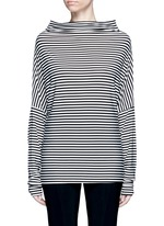 'All In One Mini' stripe convertible jersey skirt top