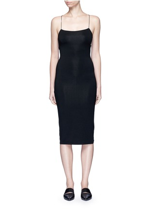 Main View - Click To Enlarge - T By Alexander Wang - Cutout back strappy camisole dress