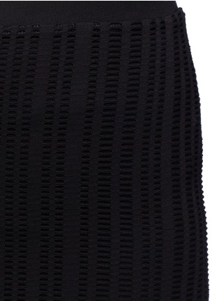 Detail View - Click To Enlarge - T By Alexander Wang - Jacquard jersey pencil skirt