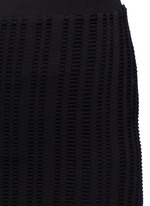 Jacquard jersey pencil skirt