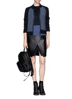 RAG & BONETexture knit Jacket