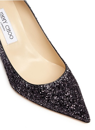 Detail View - Click To Enlarge - Jimmy Choo - 'Agnes' glitter dégradé pumps