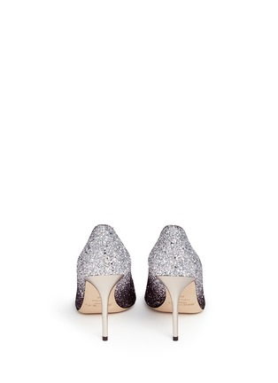 Back View - Click To Enlarge - Jimmy Choo - 'Agnes' glitter dégradé pumps