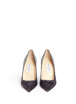 Figure View - Click To Enlarge - Jimmy Choo - 'Agnes' glitter dégradé pumps