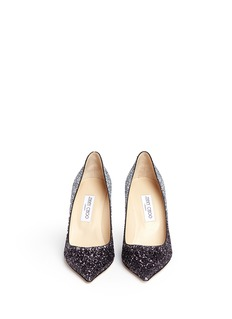 Jimmy Choo 'Agnes' glitter dégradé pumps
