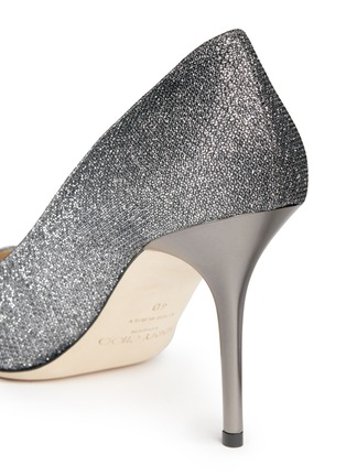 Detail View - Click To Enlarge - Jimmy Choo - Agnes' lamé glitter pumps