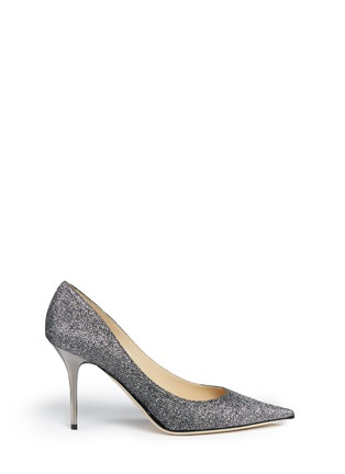 Main View - Click To Enlarge - Jimmy Choo - Agnes' lamé glitter pumps