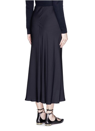 Back View - Click To Enlarge - Theory - 'Maity TS' asymmetric midi skirt