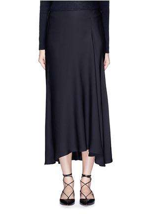 Main View - Click To Enlarge - Theory - 'Maity TS' asymmetric midi skirt