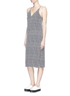 THEORY'Kyun' silk slip dress