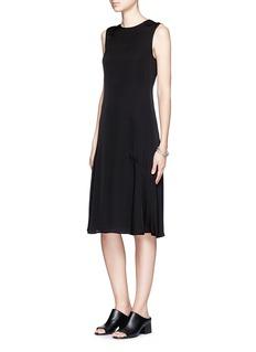 THEORY'Raola' sleeveless flare dress