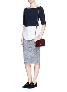 THEORY 'Nellida' knit pencil skirt
