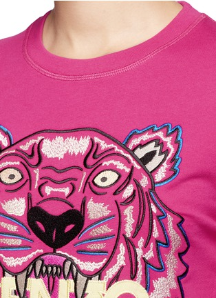Detail View - Click To Enlarge - KENZO - Tiger embroidery sweatshirt