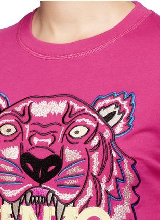 KENZO-Tiger embroidery sweatshirt