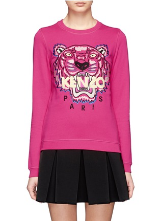 Main View - Click To Enlarge - KENZO - Tiger embroidery sweatshirt
