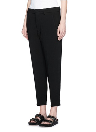 Front View - Click To Enlarge - Isabel Marant - Crepe suiting capri pants