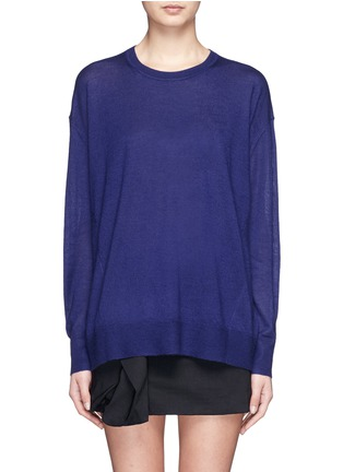 首图 - 点击放大 - ISABEL MARANT  - 单色羊绒混丝针织衫