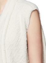 'Felicia' alpaca drape long vest