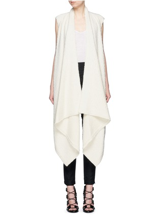 Main View - Click To Enlarge - Isabel Marant - 'Felicia' alpaca drape long vest