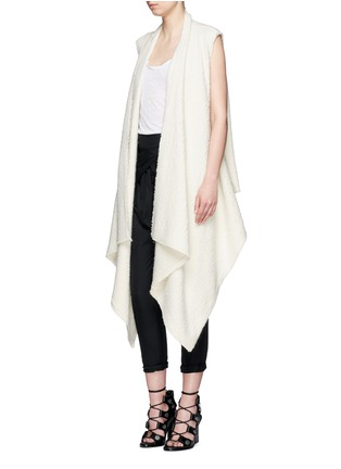 Figure View - Click To Enlarge - Isabel Marant - 'Felicia' alpaca drape long vest