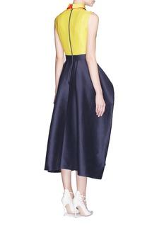 ROKSANDA'Austen' contrast collar cotton-silk dupion tulip dress