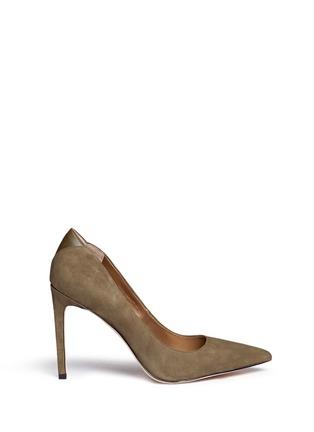 Sam Edelman-Dea' leather trim suede pumps