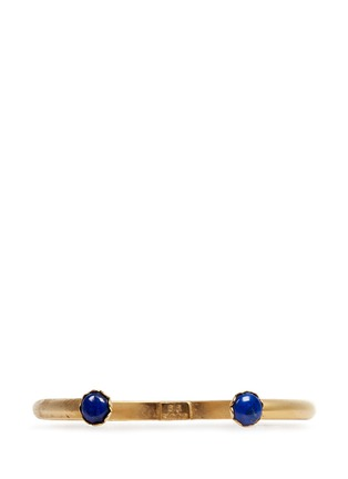 Main View - Click To Enlarge - Ela Stone - 'Ana' Lapis stone slim cuff