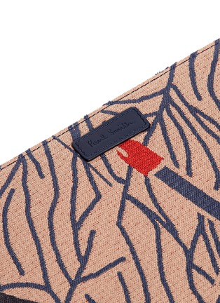 Detail View - Click To Enlarge - Paul Smith - Cigarette jacquard iPad case