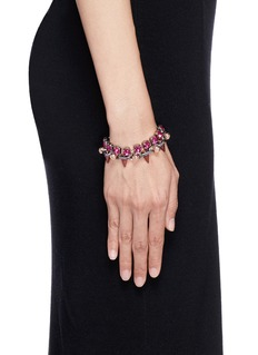 JOOMI LIM'Dynamic Duo' spike sphere bracelet