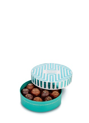 Main View - Click To Enlarge - Fortnum & Mason - Small sea salted caramel truffle drum