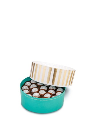 Main View - Click To Enlarge - Fortnum & Mason - Small Marc de Champagne truffle drum