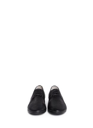 模特儿示范图 - 点击放大 - MARSÈLL - COLTELLO激光切割真皮平底鞋