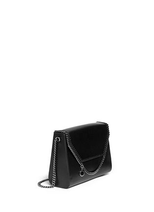 Front View - Click To Enlarge - Stella McCartney - 'Falabella' flap chain shoulder bag