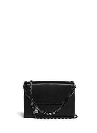 Main View - Click To Enlarge - Stella McCartney - 'Falabella' flap chain shoulder bag