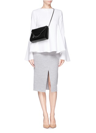 Figure View - Click To Enlarge - Stella McCartney - 'Falabella' flap chain shoulder bag